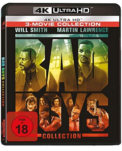 Bad Boys 1-3 (Bad Boys - Harte Jungs / Bad Boys II / Bad Boys for Life) [Blu-ray]