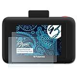 Bruni Película Protectora Compatible con Polaroid Snap Touch Protector Película, Claro Lámina Protectora (2X)