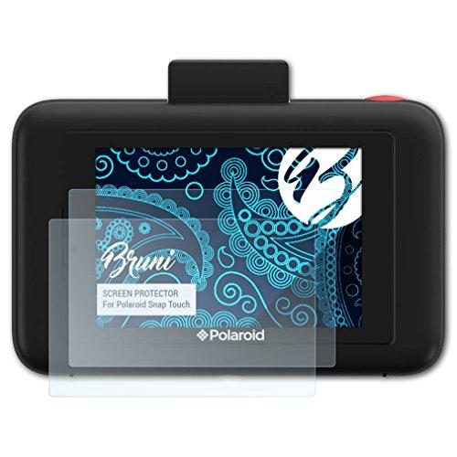 Bruni Película Protectora para Polaroid Snap Touch Protector Película, Claro Lámina Protectora (2X)