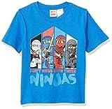 LEGO Ninjago Little Boys Don't Mess with The Ninja's T-Shirt, Blue, 7
