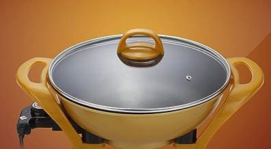 Coréen Multifonctions Cooker Gold Lingot Pot sans fumée antiadhésif électrique Wok électrique Santé Hot Pot Maifan Pierre Pot