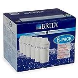 BRITA Indispensable Classic - Cartuchos de filtro de agua (6 unidades, E99445) (diseño neotérico)