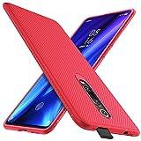 iBetter für Xiaomi Mi 9T Hülle, für Xiaomi Mi 9T Pro Hülle, Ultra Thin Cover Silikon Handyhülle Stoßfest Hülle Schutzhülle Shock Absorption Backcover Hüllen passt für Xiaomi 9T/ 9T Pro Phone (Rot)