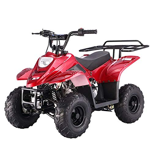 X-PRO 110cc ATV Quad Youth ATVs Quads 110cc 4 Wheeler ATVs Kid Size ATV 4 Wheelers,Red
