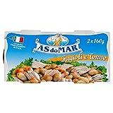 Asdomar - Fagioli e Tonno - 4 lattine da 160 g