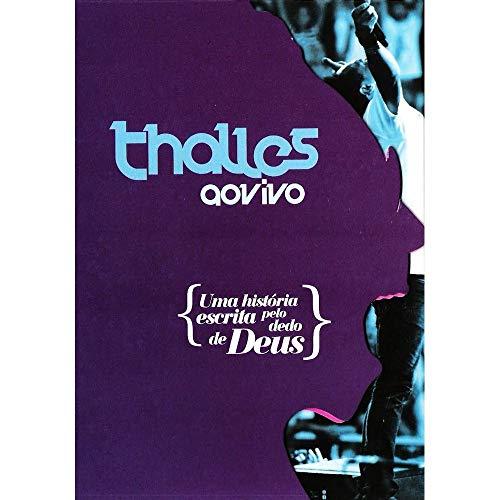 DVD - Thalles - Uma Hist?ria Escrita Pelo Dedo De Deus - Duplo