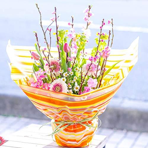 ギフト ひなまつり 指定日配達 プライムお急ぎ便 生花 桃と春の花のアレンジメントフラワー 桃の節句 ひなまつり 春のアレンジメント 誕生日 結婚記念日 お祝い 開店祝い 還暦 母の日 花 プレゼント (Mサイズ)