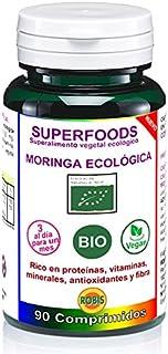 Robis Superfoods Moringa Bio Vitaminas para Veganos - 90 Cápsulas