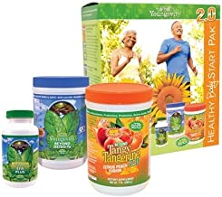 Youngevity Healthy Body Start Pack 2.0 (Beyond Tangy Tangerine 2.0, Osteo FX Powder, Ultimate EFA Plus) (Ships Worldwide)