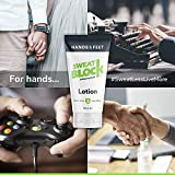 best mens slippers for sweaty feet - SweatBlock Antiperspirant Lotion for Hands & Feet, Proven to Reduce Excessive Sweating, Reduce Hand & Foot Sweat & Smelly Feet, Safe Effective, FDA Compliant Anti Sweat Lotion for Women & Men, 50mL