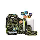 ergobag Pack zaino scolastico con accessorio set di 6pz. con set di Kletties...