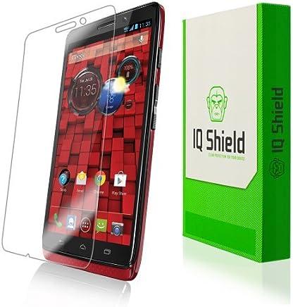 IQ Shield LiquidSkin - Motorola DROID Protector de pantalla ultra con garantía de reemplazo de por