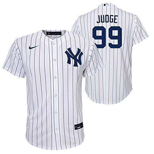 Nike MLB New York Yankees Aaron Judge Home Twill Youth Jersey Youth Medium