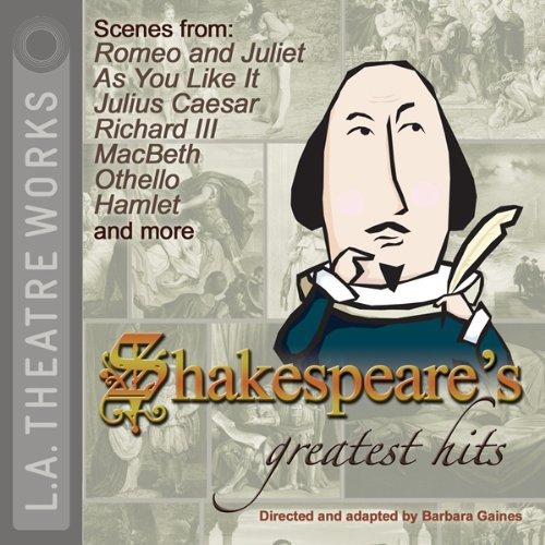 Shakespeare's Greatest Hits audiobook cover art