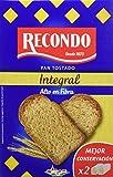 Recondo Integral Pan Tostado, 30 Rebanadas