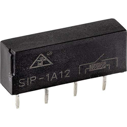 TRU Components SIP1A12 Relé Reed 1 NA 12 V/DC 0,5 A 10 W Sip-4