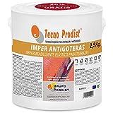 IMPER ANTIGOTERAS DE TECNO PRODIST - (2,5 Kg BLANCO) - Impermeabilizante elástico para terrazas - caucho - impermeabilización y rehabilitacion