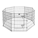 Pet Trex 24' Exercise Playpen for Dogs Eight 24' x 30' High Panels...