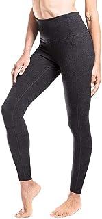 Yogipace Women's High Waisted Extra Long Length Yoga Leggings Barre Leggings Cover Heel Tall Length