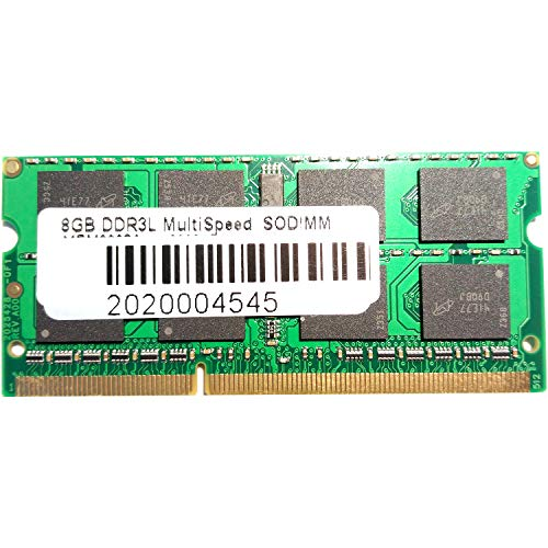 ONOGAL Memoria RAM 8GB para portatil Mac y PC DDR3L Multi Velocidad...