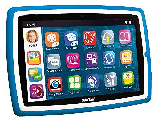 Liscianigiochi-Mio Tab 10  Evolution STEM Coding 2020 Tablet per Bambini, Colore Blu, 83961