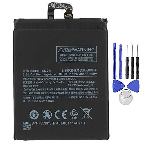 Ellenne Batería compatible con Xiaomi Mi Note 3 BM3A 3500 mAh con kit de desmontaje incluido