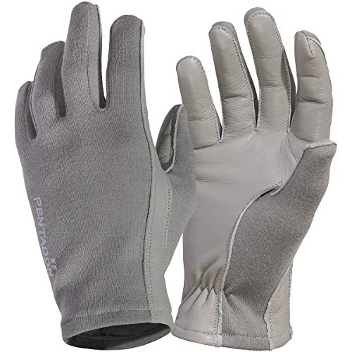 Pentagon Herren Kurze Stulpe Pilot Handschuhe Wolf Grey Größe L