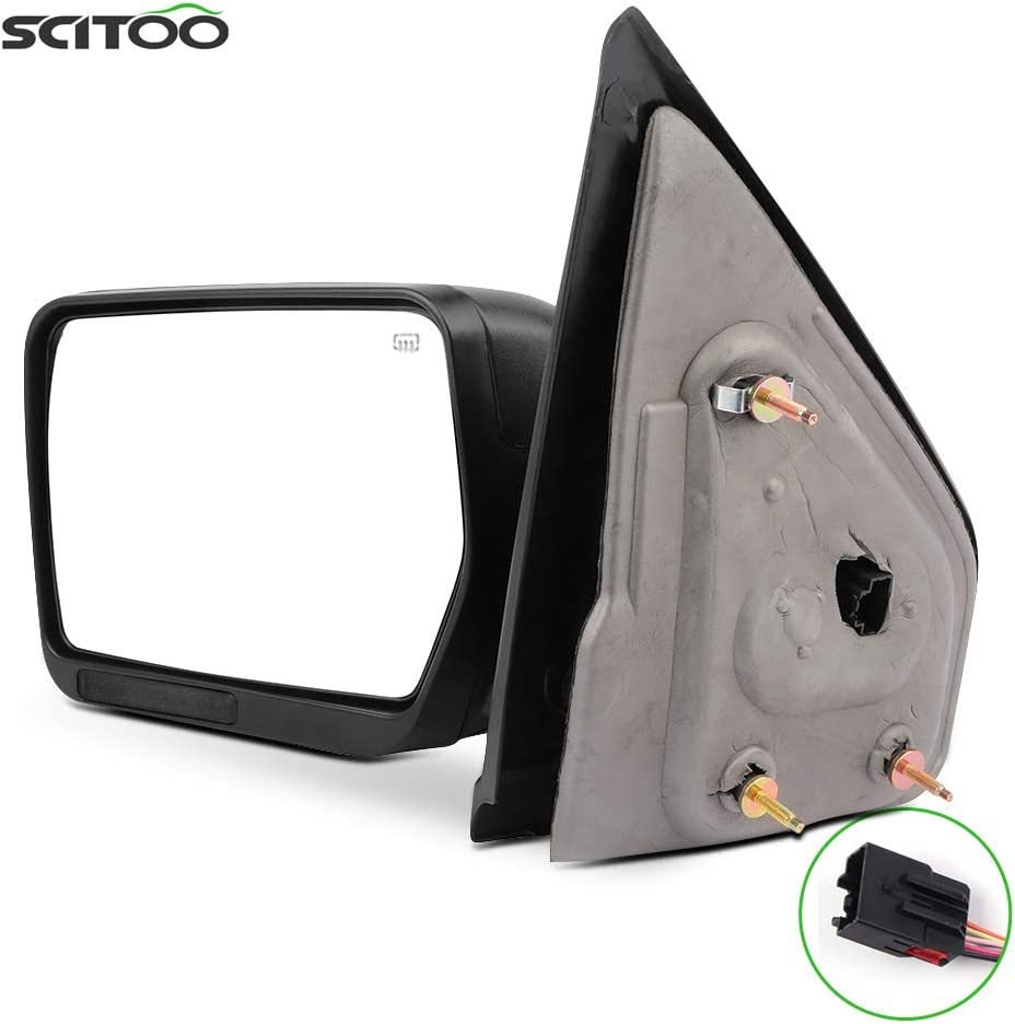 SCITOO Towing Mirror Exterior Max 69% OFF fit Ranking TOP16 Accessories 2004-20 for