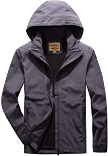 😸 Mens Long Windbreaker Jacket Autumn Casual Fashion Waterproof Quick-Drying Breathable Sport Outdoor Coat