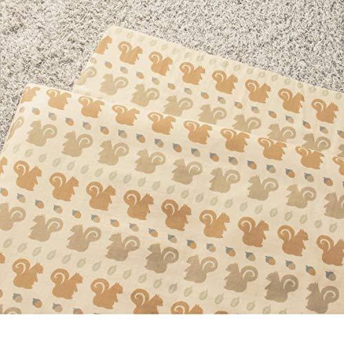 [ベルメゾン] べビー用布団カバー 日本製 綿100% 通園 りす お昼寝掛け布団カバー単品