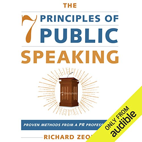 The 7 Principles of Public Speaking audiobook cover art