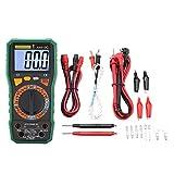 Yhtech Multímetro digital electrónico, AN819C digital de voltaje de CC del amperímetro del metro/amperímetro del voltímetro del LCD de CA (verde)