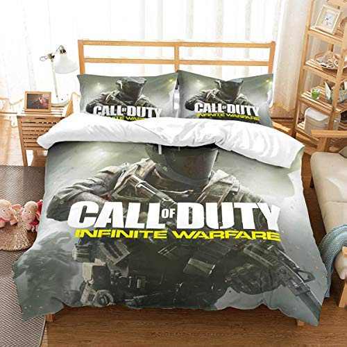 3D Blanket Store | Customize Call of Du-ty in-Finite War-fare Duvet Cover Set, Bed-Covers, Bedding-Set, Bedroom-Sets, Duvet, Duvet-Cover,. Full Size (Twin, King, Queen) / Fans Gift Set. Model B-13