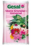 GESAL Abono granulado Universal, Óptimo Crecimiento de la Planta, 1 kg, 2024202011