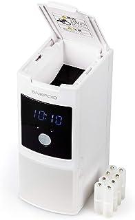 【Amazon.co.jp限定】SECULINE 充電器 ENEROID EN20DST スペーサーセット 単3形用 20本充電可能 USBポート搭載 急速充電対応 021408