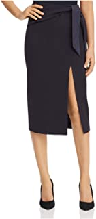 ARMANI Womens Navy Below The Knee Pencil Wear To Work Skirt US Size: 14