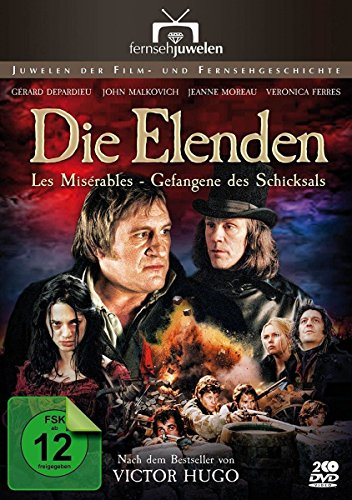 Die Elenden / Les Misérables - Gefangene des Schicksals (Die Miserablen) - Fernsehjuwelen [2 DVDs]