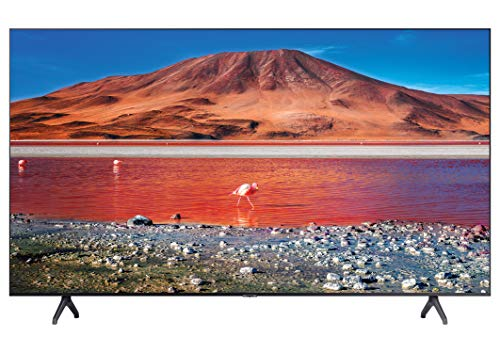 Samsung 109 cm (43 inches) 4K Ultra HD Smart LED TV UA43TU7200KBXL (Titan Grey) (2020 Model)