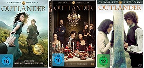 Outlander Staffel 1-3 (1+2+3) Komplett [DVD Set]