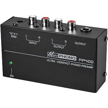 TOOGOO Preamplificador De Preamplificador De Sonido Ultra Compacto ...