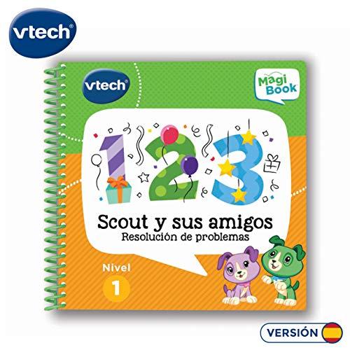 Vtech MagiBook-Plattform, Buch (evtl. Nicht in Deutscher Sprache) Scout und Seine Freunde