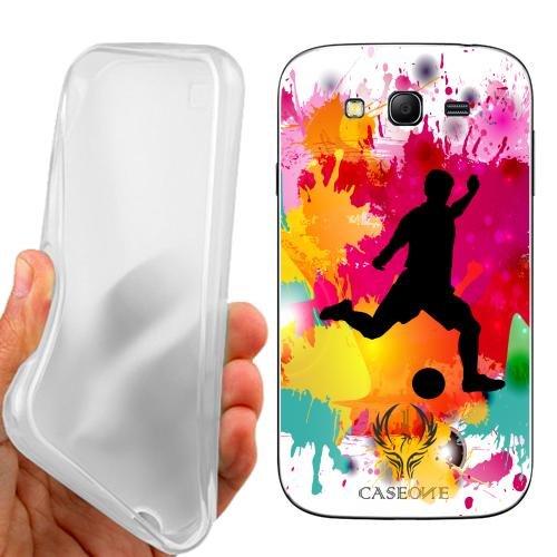 Custodia Cover Case Calcio per Samsung Galaxy Grand Neo Plus