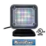 MaximalPower Home Security TV Light Simulator with Built-in Light Sensor Timer US Plug for Burglar Intruder Thief Deterrent Crime Prevention Device