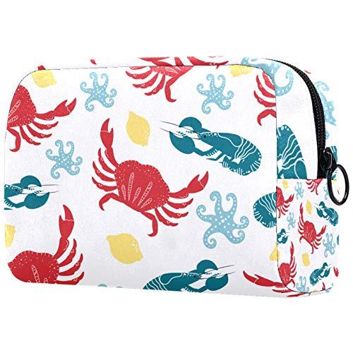 Bolso cosmético portátil del viaje del bolso del almacenamiento multifuncional de la señora del cosmético, pascua de Happey
