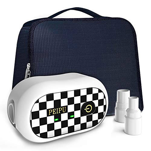 PEIPU CPAP Cleaner and Sanitizer Bundle,Portable CPAP Sanitizer Bundle with...