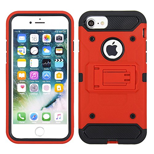 Cube Handy Fall für Apple iPhone 8 Plus/7 Plus/6S Plus/6 Plus – ROT