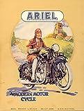 SHAWPRINT Ariel Vintage Stil Metall Dose K?hlschrank Magnet, 100?mm x 75?mm, Neuheit Geschenk