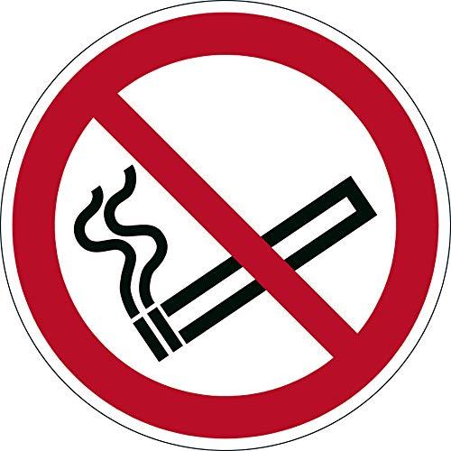 Durable 172803 Bodenaufkleber (Sicherheitskennzeichen Rauchen verboten, Ø 43 cm)