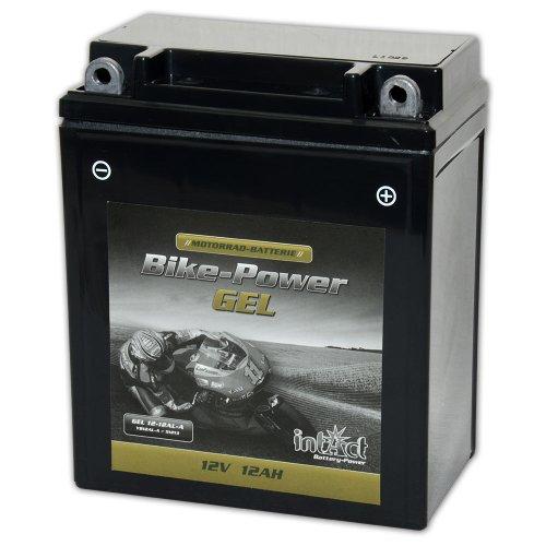 Motorrad Batterie Gel 12 V 12 AH (51213/CB12AL-A) - Alternativ: CB12AL-A2 - YB12AL-A - GEL12-12AL-A - 512013012 - 51213 - YB12AL-A2 - 6Y3PS - GEL-Technologie - absolut wartungsfrei