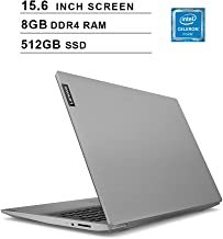 $410 » 2020 Lenovo Ideapad S145 Newest 15.6 Inch Premium Laptop, Intel Dual-Core Celeron 4205U 1.80 GHz, Intel UHD 610, 8GB DDR4 RAM, 512GB SSD, HDMI, Bluetooth, WiFi, Windows 10 Home, Grey